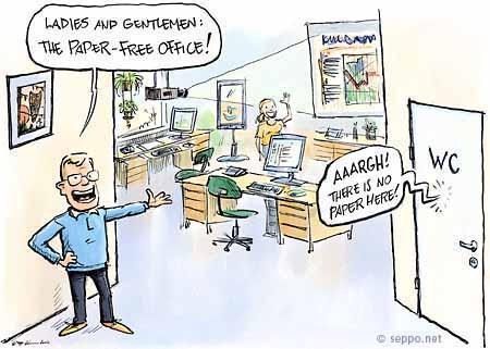 Seppo Leinonen - Paper free office