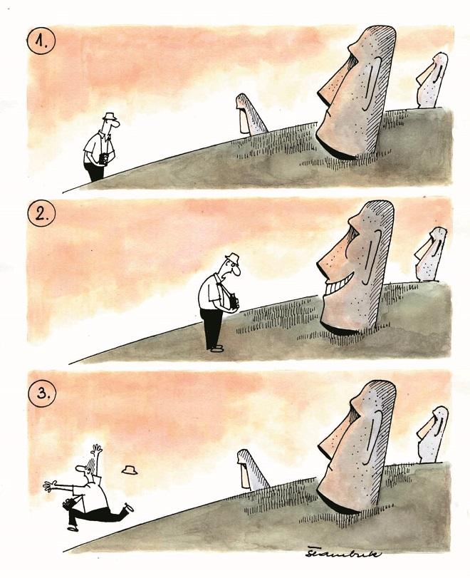 Karikatura: Davor: Štambuk (10. Zemunski salon karikature)