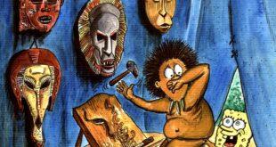 Karikatura: Dušan Gađanski (13. Zemunski salon karikature)