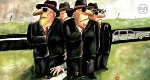 Karikatura: Darko Drljević (12. Zemunski salon karikature)