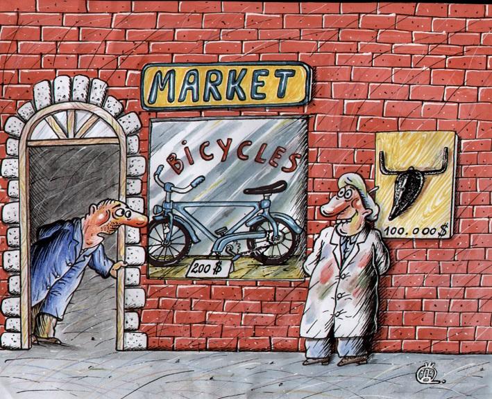 Karikatura: Darko Drljević (7. Zemunski salon karikature)