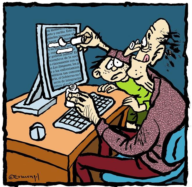 Karikatura: Armengol Tolsa Badia (12. Zemunski salon karikature)