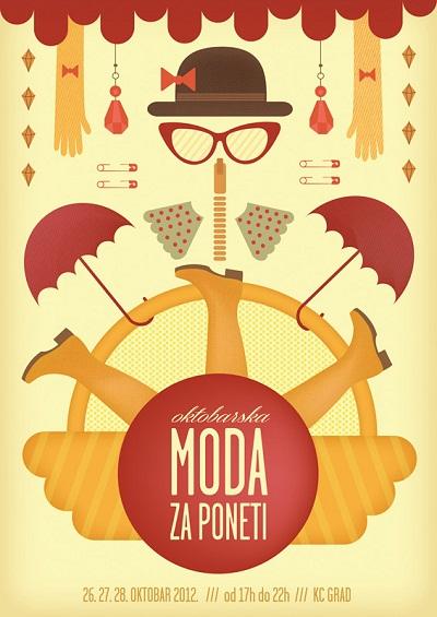 Moda za poneti - oktobar 2012.