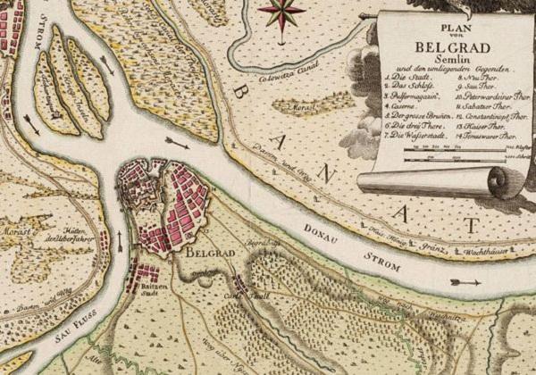 Plan Beograda - Beograd na gravirama od XVI do XIX veka