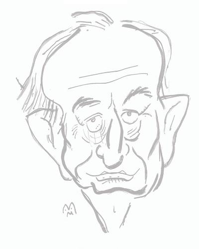 Duško Radović - karikatura