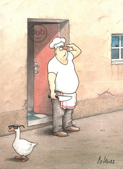 Pol Leurs - karikatura