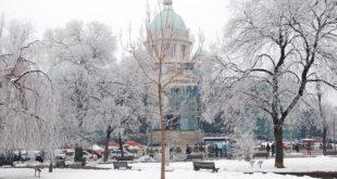 Zima u Beogradu (foto: Goran Čakmazović)