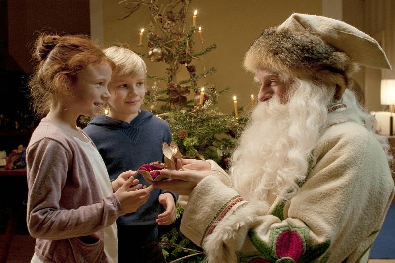 Deda Mraz je pao na zemlju