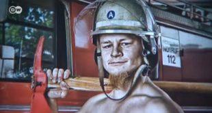 DW - vatrogasac na kalendaru