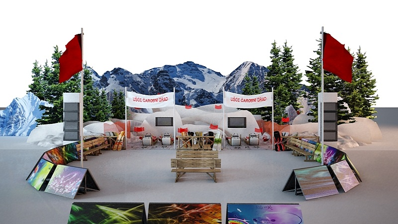 Polarna zabava - Xbox turniri; Ušće SC