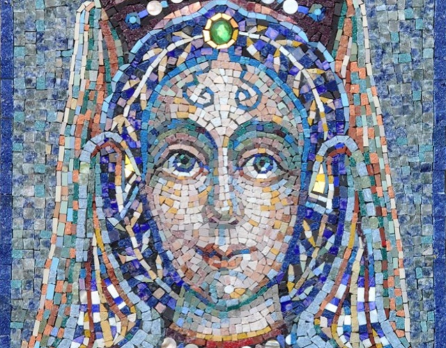 Predrag Todorović, detalj mozaika