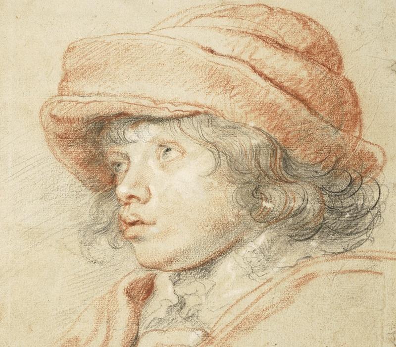 Fotografija: Peter Paul Rubens, Rubensov sin Nikola sa crvenom kapom, 1625-1627 © Albertina, Wien