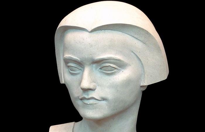 Srpska skulptura - Živojin Lukić, detalj