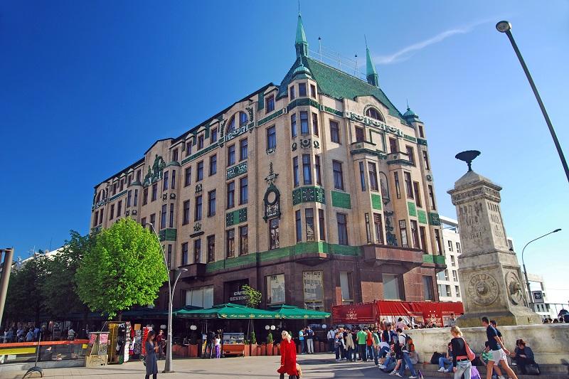 Beograd - Hotel Moskva, Terazije (foto: Goran Čakmazović)