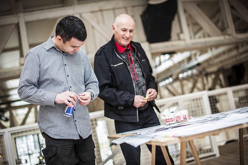 Petar Vojinović i Zoran Modli (foto: Marko Đurić)