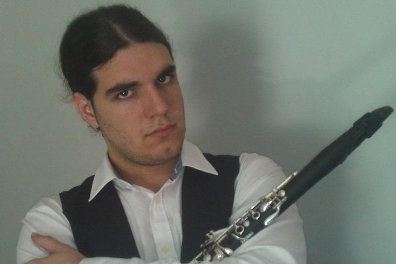 Klarinetista Aleksandar Stojanović