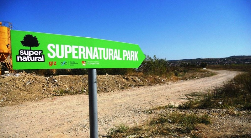 Supernatural park, Ada Huja