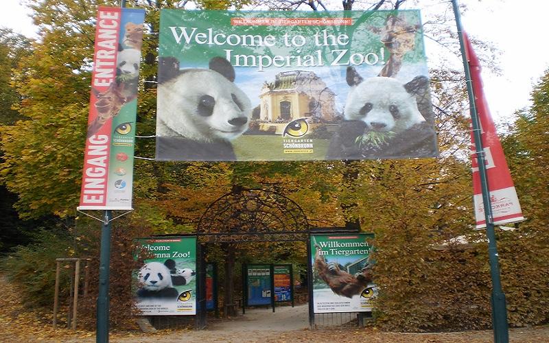 """Zoološki vrt """"Šenbrun"""" u Beču © Cvijeta Radović"""