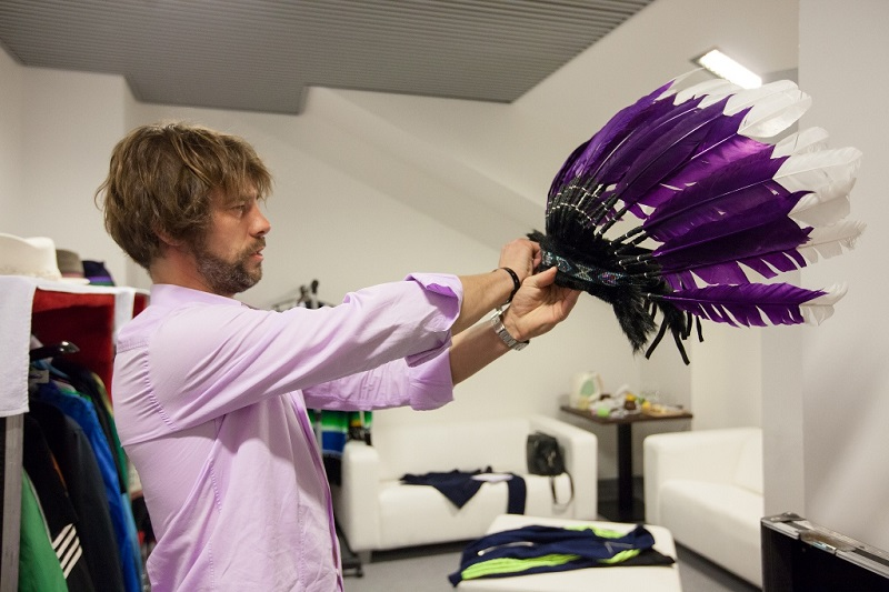 Jamiroquai - dressing room
