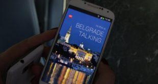 Aplikacija Beograd priča