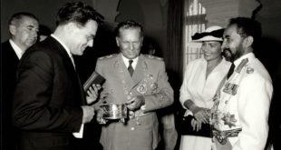 Car Haile Salasije i Tito