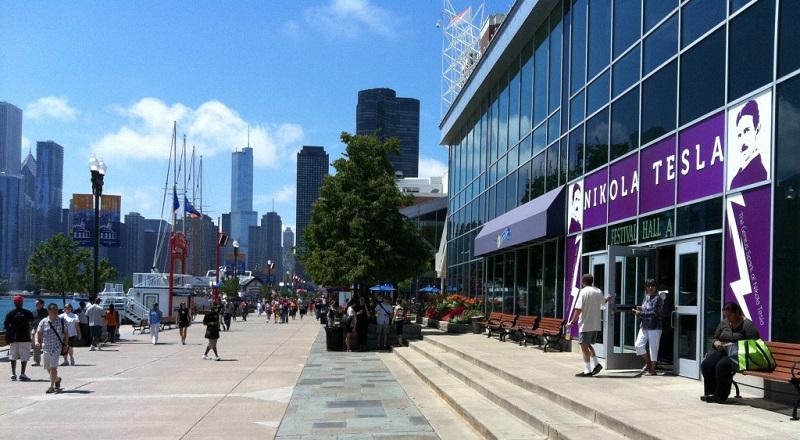 Teslin čudesni svet elektriciteta (Čikago)