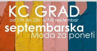 Moda za poneti - septembar 2013