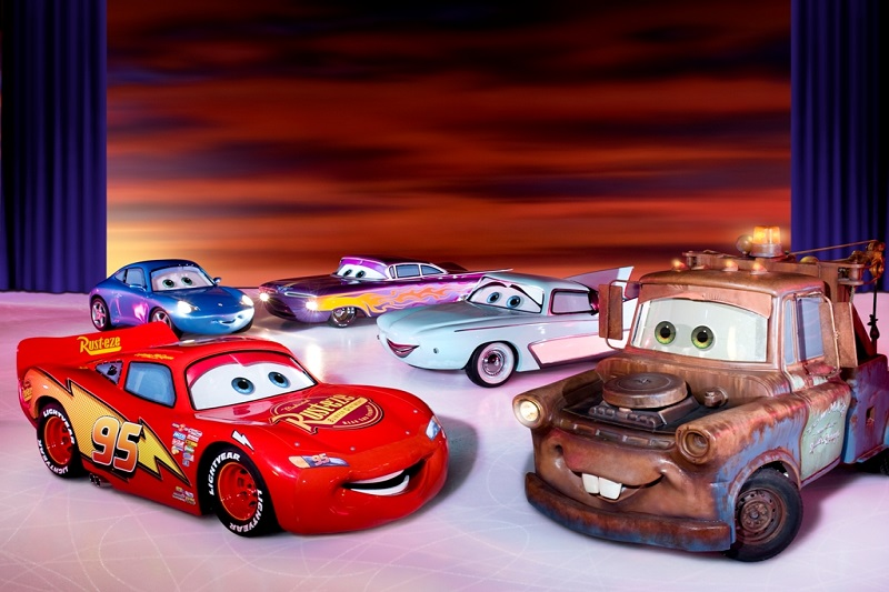 Disney on Ice: Automobili