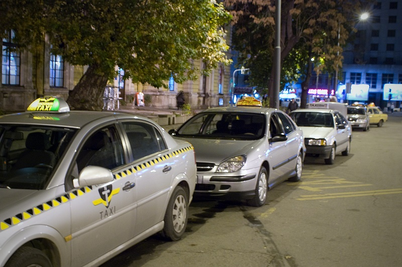 Taksisti (foto: Predrag Stojanović)