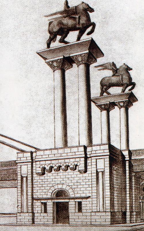 Ivan Meštrović - skulpture na Brankovom mostu