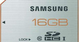 Samsung SDHC 16 GB