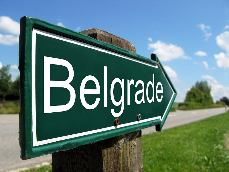 Belgrade - znak