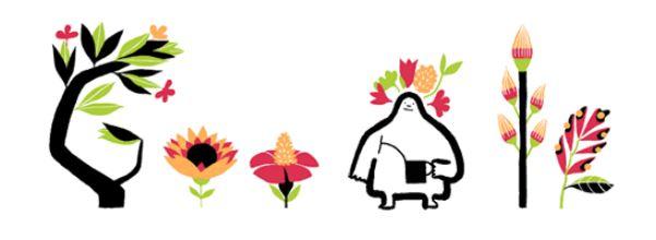 Google Doodle - proleće