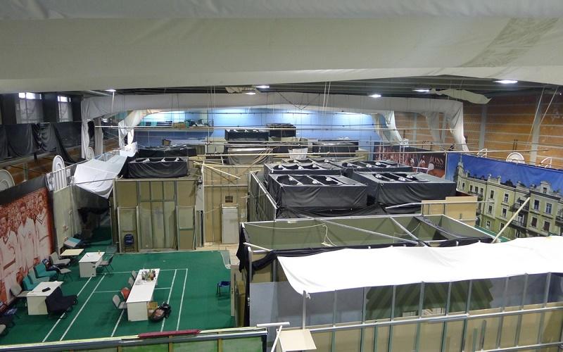 Kombank arena - Mala sala