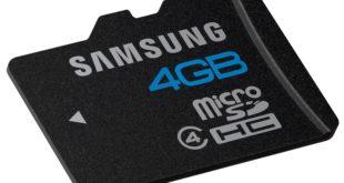Samsung micro SDHC 4 GB