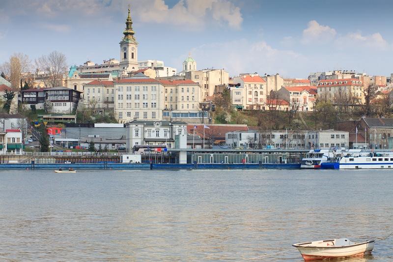 Beograd - pogled sa reke