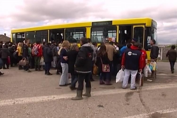 Evakuacija u Obrenovcu