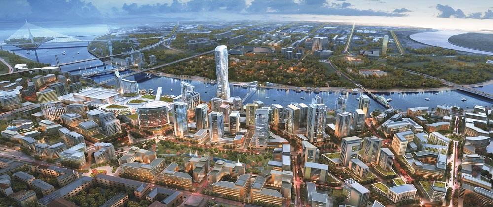 Beograd na vodi (ilustracija: belgradewaterfront.com)