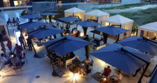 Letnja terasa hotela Falkensteiner Beograd