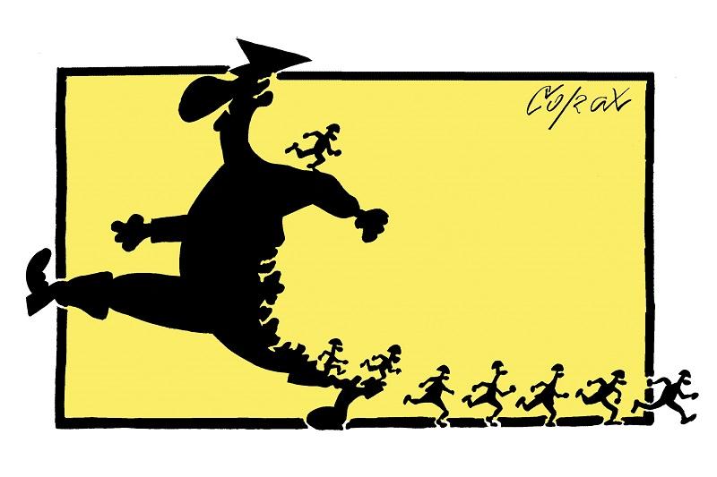 19. Zemunski salon karikature - Corax
