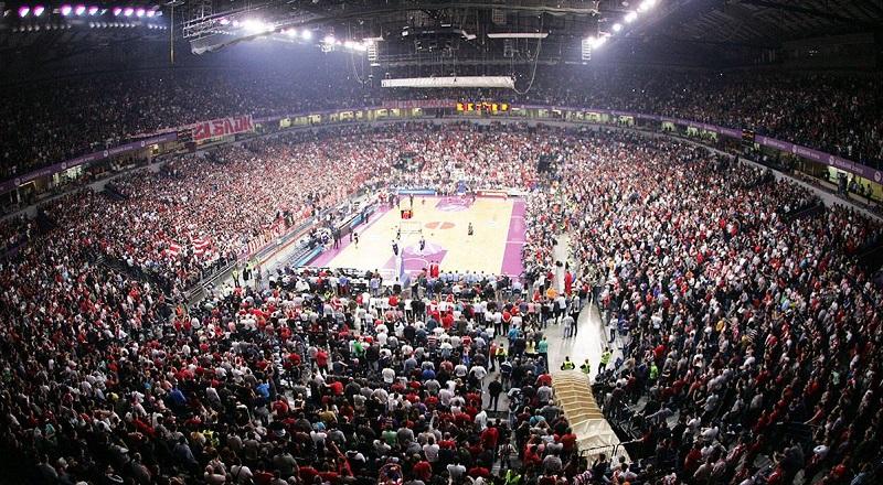 KK Crvena zvezda (foto: kkcrvenazvezda.rs)