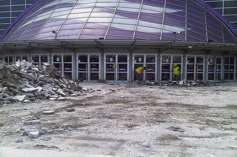 Kombank arena - renoviranje