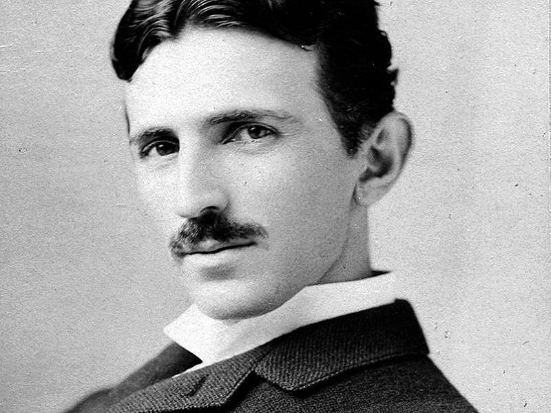 Nikola Tesla (foto: Napoleon Seroni, 1893)