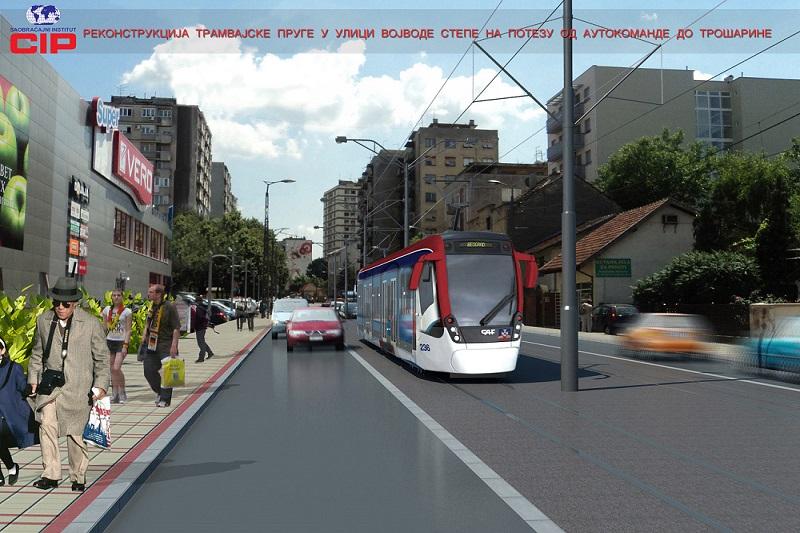Rekonstrukcija Ulice vojvode Stepe