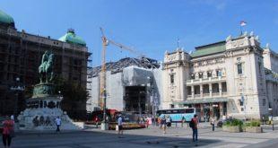 Hotel Marriott - gradnja (foto: Beobuild.rs)