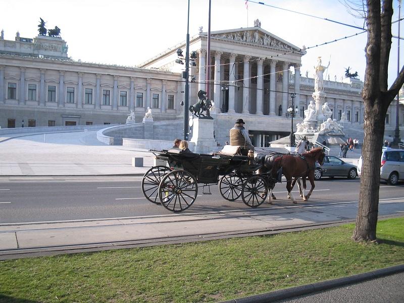 Ringštrase - Zgrada Parlamenta (foto: Cvijeta Radović)