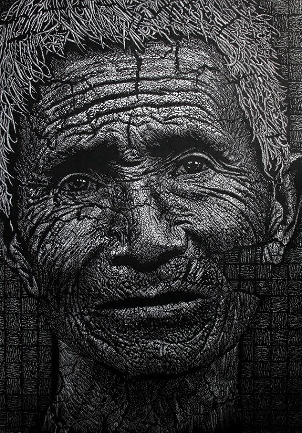 Trijenale grafike - Xue-Feng Zhang