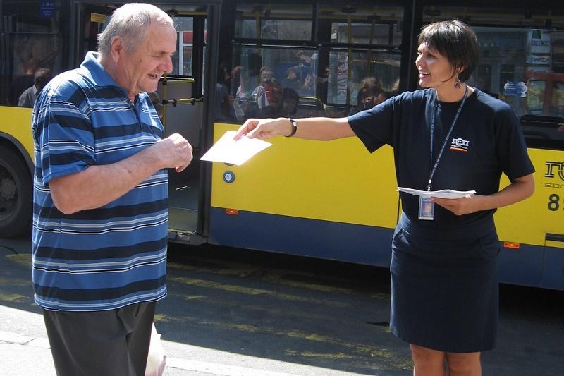 """Akcija """"Za bolji prevoz i život u Beogradu"""""""