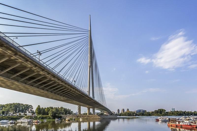 Beograd - Most na Adi