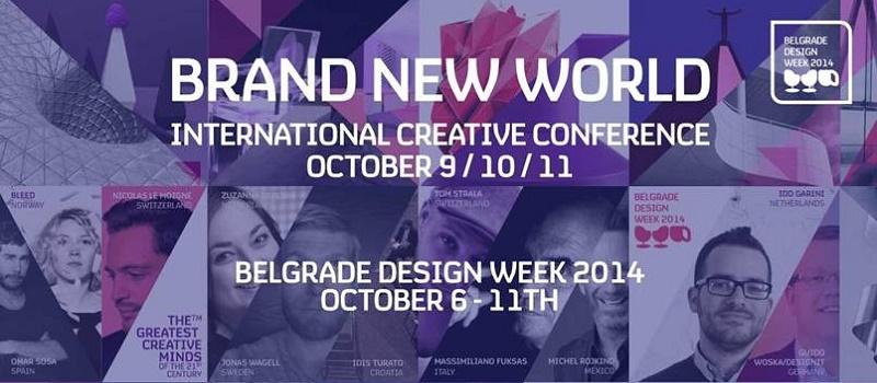 Belgrade Design Week: Konferencija Brand New World